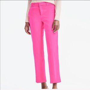 NWT BANANA REPUBLIC Avery Mid-Rise Pink Pants